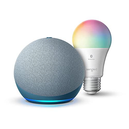 Echo Dot (4th Gen) | Smart speaker with Alexa | Twilight Blue with...