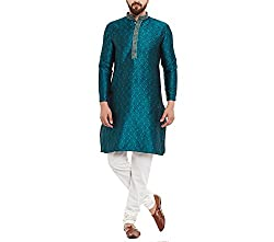 Sojanya Mens Silk Kurta and Pyjama