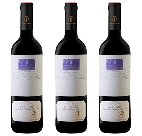Marqués de Griñón El Rincón D.O. Vinos de Madrid - 3 botellas x 750 ml - Total: 2250 ml