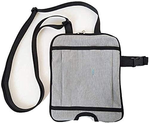 XJYXH Bolso de drenaje del kit de la pata del colector de orina, soporte de la bolsa de drenaje de orina con correa de hombro ajustable y correa de pierna, soporte de bolsas de ostomía portáti