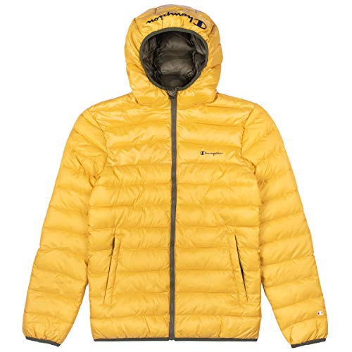 Champion Herren Winterjacke Hooded Jacket Full Zip