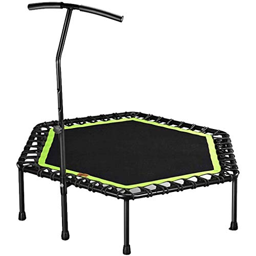 ZPSFW Haushalt-Mute Erwachsenen hexagonal Fitness Trampolinspringen Bett Kinder verlieren Trampolin Gewicht Sprung Hallensport