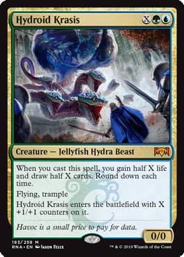 Magic: The Gathering - Hydroid Krasis - Ravnica Allegiance