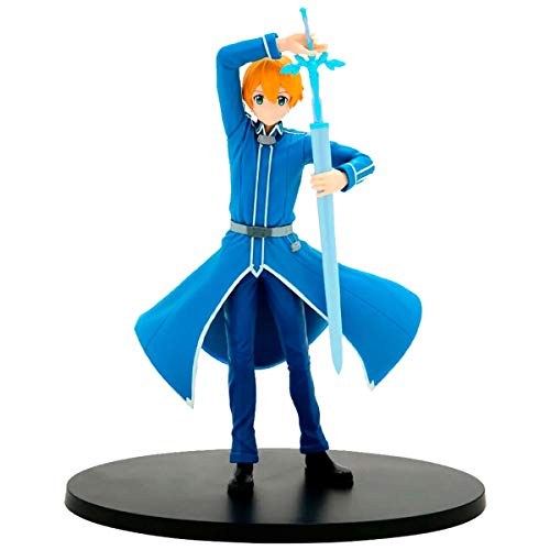 Figure sword art online alicization eugeo figure tba ref. 20263/20264, bandai banpresto
