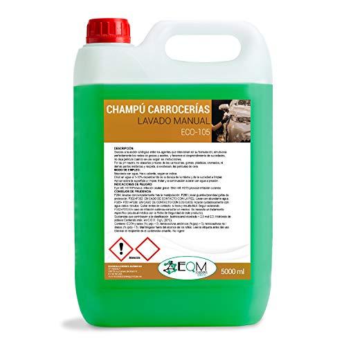 Ecosoluciones Químicas ECO-105 | 5 litros | Champú Neutro Carrocería. Alto Poder espumante