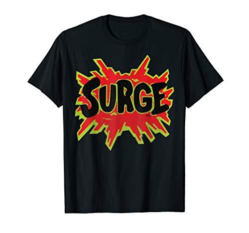 Coca-Cola Retro Surge Logo Graphic T-Shirt