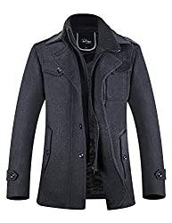 DESIGN----Designed by professional designers,combine wind jacket style and woolen warm together. FABRIC----50% Wool, 50% Polyester. Real picture Shown,High quality.100% new with tags. TECHNOLOGY----High-end printing process, no shrink, no fading, no ...