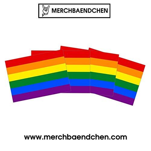Regenbogen Sticker Paket (30, 50 oder 100 Stück) Aufkleber Pride Lgbt