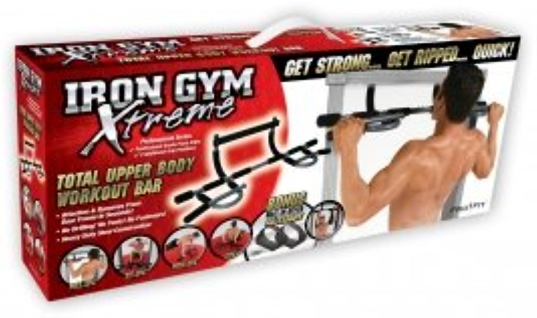 Iron Gym Xtreme Multifunktions-Trainings-Stange Klemmstange, Klimmstange