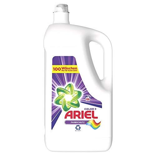 Ariel Waschmittel Flüssig, Flüssigwaschmittel Color, Color Waschmittel, Farbschutz, 100 Waschladungen (5.5 L)