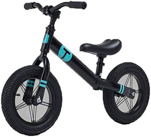 Bicicleta para niños pequeños sin pedal 12 de acero al carbono marco de equilibrio bicicletas para niños de 2 a 6 años de edad
