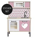 Limmaland Sticker byGraziela für IKEA DUKTIG (Rosa) - Kinderküche Nicht inklusive