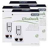 Descalcificador DeLonghi EcoDecalk. 4 paquetes de 2 unidades de 100 ml