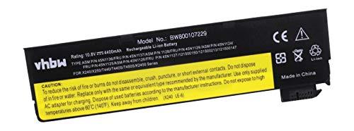 vhbw Batterie Li-ION 4400mAh (11.1V) pour Netbook Tablette Lenovo Thinkpad T440, T440s. Remplace: 45N1124, 45N1125, 45N1134, 45N1135, 45N1737.