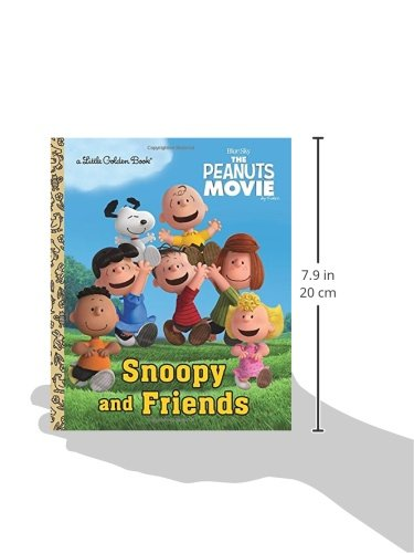 Snoopy and Friends (The Peanuts Movie) (Little Golden Book)