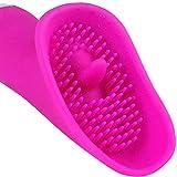 For Couples Handcuffs 30 Speed che Vibra Impermeabile Tongue Fica Giocattolo Diverte...