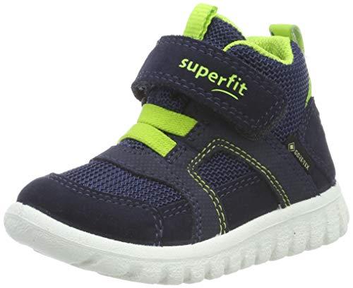Superfit Baby-Boys Sport7 Mini Gore-Tex-509198 Sneaker, Blau (Blau/Grün 81), 25 EU