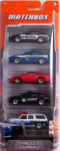 Matchbox 60th Anniversary Police 5-Pack
