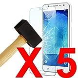 Verre Trempé Nokia 7 Plus LOT Pack 5 Film Protection en Verre trempé Écran Protecteur Vitre pour...