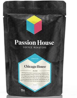 Passion House Coffee Roasters, Chicago House Blend Whole Bean, Cold Brew, Pour Over, Drip, Espresso, Latte, Cappuccino, 12oz