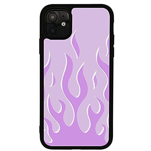 Estuche Blando para teléfono móvil con patrón de Llama de Lavanda púrpura para iPhone 11 12 Pro 6s 7 8 Plus X XS 11 Pro MAX XR Estuche Protector, para iPhone 11