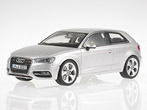 Audi A3 2012 eissilber Modellauto Schuco 1:43