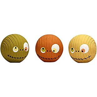 Hugglehounds Extremely Durable and Squeaky Ruff-Tex Zombie Heads Toys, Large, Set of 3:Tudosobrediabetes
