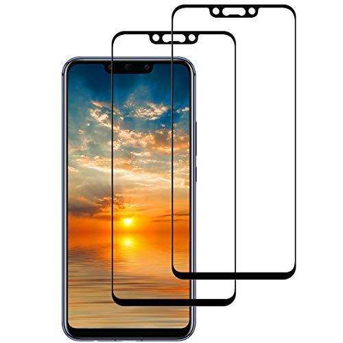 Aspiree 2 Piezas Huawei Mate 20 Lite Protector Pantalla, Cristal Templado Para Huawei Mate 20 Lite, [Anti-arañazos] [9H Dureza] [Sin Burbujas] Vidrio Templado Huawei Mate 20 Lite