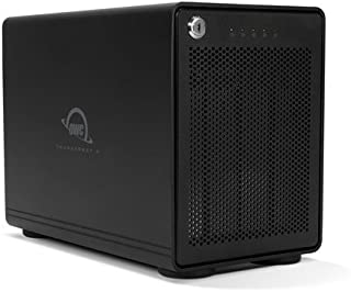OWC 32 TB 4-Drive Enterprise HDD Storage Solution with Dual Thunderbolt 3 Ports