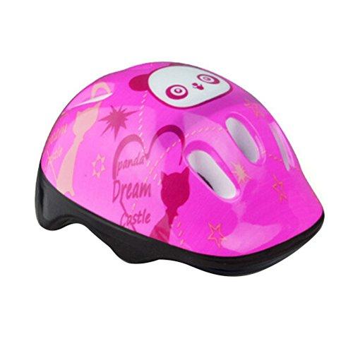 SevenMye Kinder Fahrrad-/Skateboard-Helm / Schutzhelm, rose