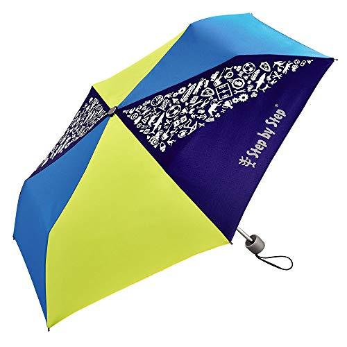 Step by Step Blue / Yellow Regenschirm