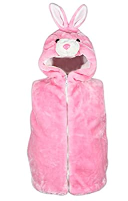Bioterti Kids' Animal Hooded Vest for Dress Up/ Manufacture/16 Amazing Styles