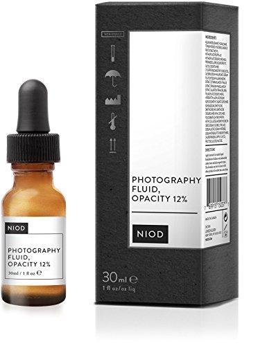 NIOD Photography Fluid, Colorless, Opacity 12% - 1 Oz by NIOD