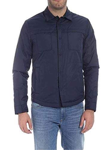 CIESSE Down Jacket Button Shirt Eco-Technology Shorty -  Blue -  50R