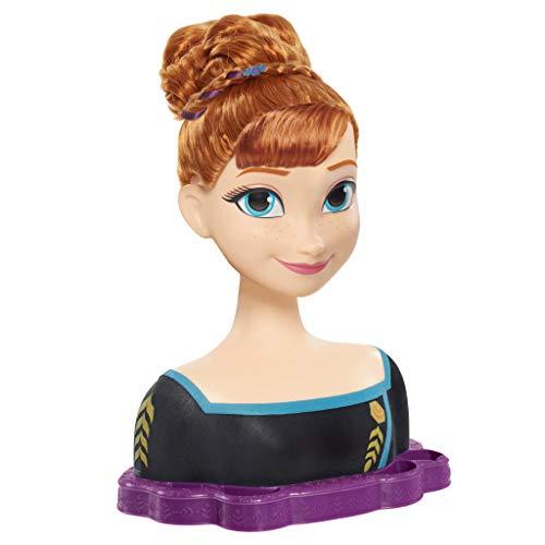 Busto Anna de Frozen Deluxe. Para peinar y maquillar con 18