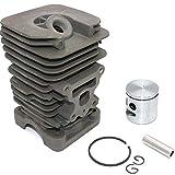 HaoYueDa Kit de pistón de Cilindro de 41 mm para Motosierra McCulloch CS42S CS330 CS360 CS360T CS370 CS400 CS400T CS420T Mac 7-38 Mac 7-40 Mac 7-42