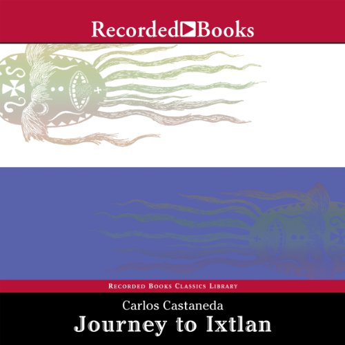 Journey to Ixtlan audiobook cover art
