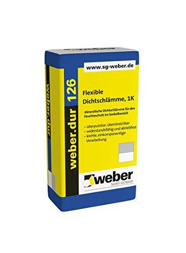 Weber.dur 126 Flex-Dichtschlämme 1-K