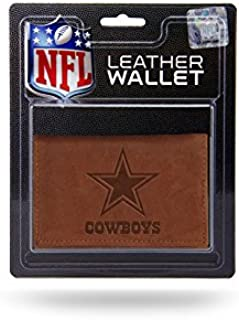 Rico Industries NFL Arizona Cardinals Leather Trifold Wallet with Man Made Interior