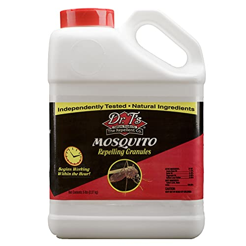 Dr. T's DT336 Mosquito Repelling Granules 5 Pounds 40;not available for sale in CA or NM41;