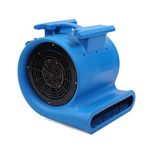 MOUNTO 3-Speed Air Mover 1HP 4000+ CFM Monster Floor Blower Carpet Dryers Janitoral Floor Dryer