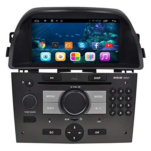 GPS Automatique TOPNAVI 6.95 Pouces pour Opel Antara 2008 2009 2010 2011 2011 2012 2013 Android 6.0 Autoradio Autoradio Navigation stéréo Navigation WiFi 3G RDS Miroir Lien FM AM Audio Bluetooth