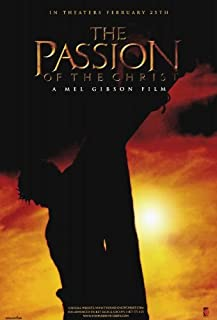 The Passion of the Christ Movie Poster (27 x 40 Inches - 69cm x 102cm) (2004) Style D -(James Caviezel)(Monica Bellucci)(Claudia Gerini)(Maia Morgenstern)(Sergio Rubini)(Toni Bertorelli)