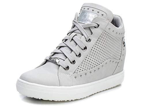 XTI 49936.0, Zapatillas Mujer, Blanco (Hielo Hielo), 39 EU
