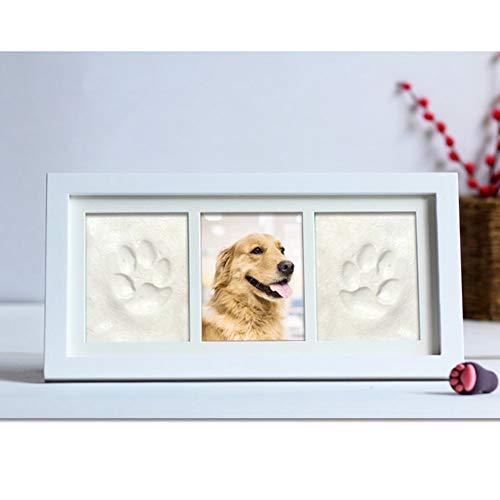Fotolijst voor honden en katten voor huisdier Memorial Picture Pet Paw Print met klei, babydouche of doopcadeau Een mooie Keepsake voor muur & tafel