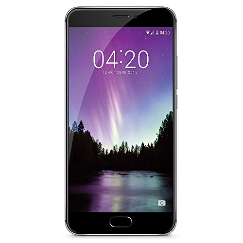 "Meizu MX6 - Smartphone libre Android (5.5"", 32 GB, 4 GB RAM, 12 MP), color gris"