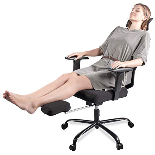 Smugdesk Office Chair With Footrest