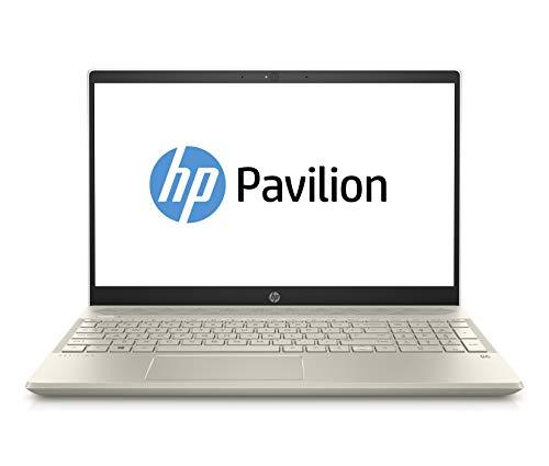 HP Pavilion 15-cs0202ng (15,6 Zoll Full-HD) Notebook (Intel Core i3-8130U, 256GB SSD, 8GB RAM, Intel UHD Graphics, Windows 10 Home 64) gold