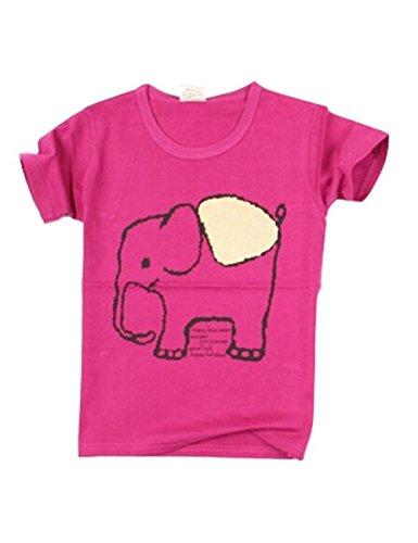 Tendance pour garçon Chemise spéciale T-shirt pour Cool Boy - Rose - Taille Unique