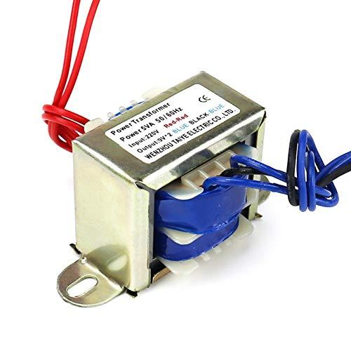 ZCX Zycxiong Sortie de transformateur d'alimentation Autotransform Input 220V 380V 5W 6V 9V 12V 15V 24V Circuit de Commande d'éclairage de transformateur d'alimentation